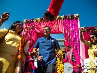 The wedding of Avni and Kartik 1
