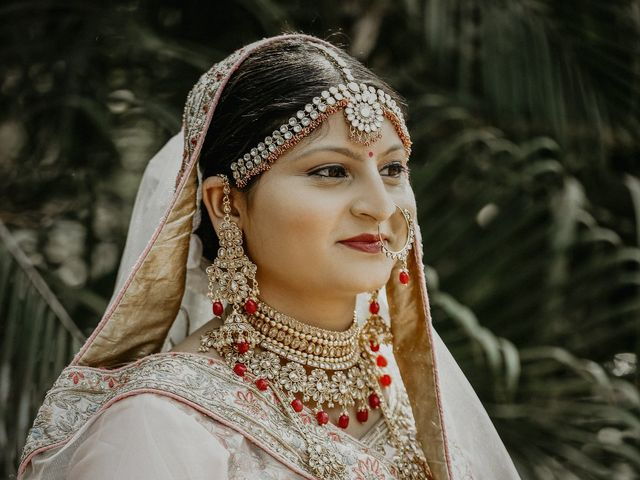 The wedding of Snehal and Jagdish