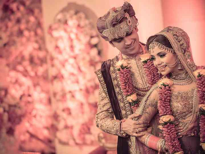 The wedding of Twesha and Shiva
