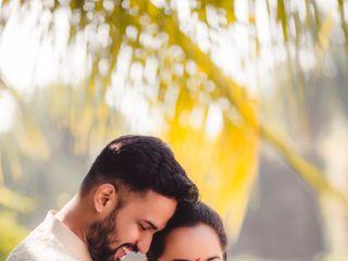 The wedding of Chaitali and Sagar