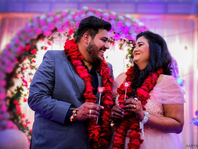 The wedding of Disha and Ujjawal