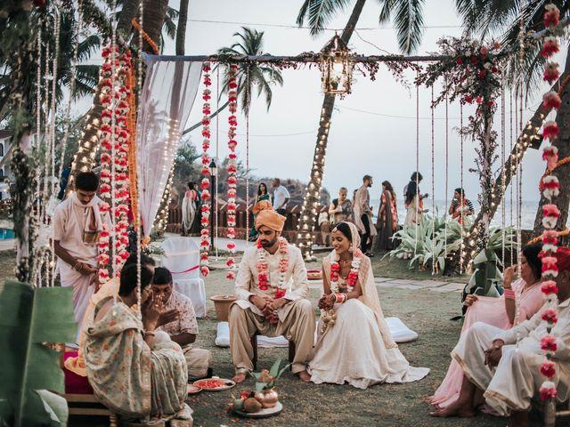 The wedding of Nivedita and Nikhil