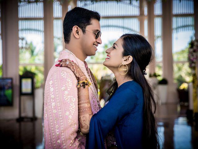 The wedding of Avani and Akash