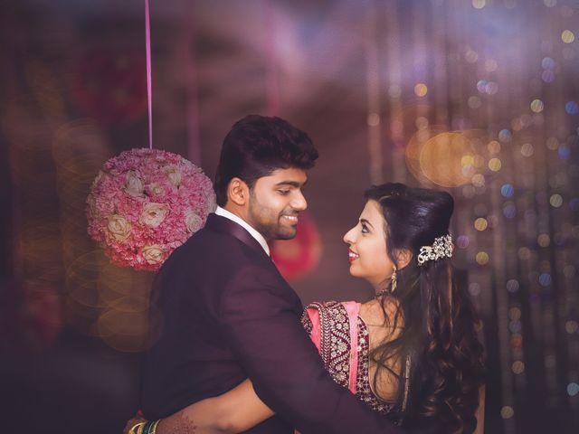 The wedding of Akanksha and Swapnil