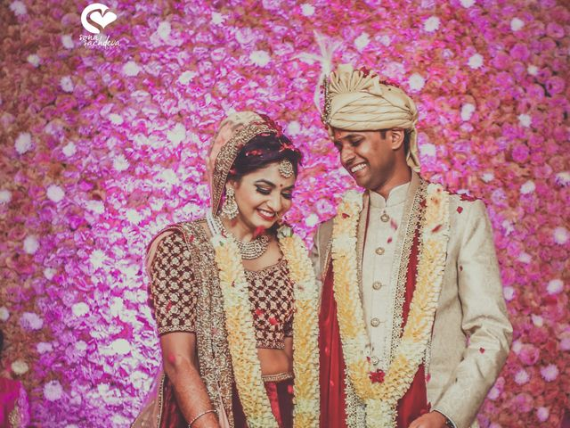 The wedding of Anumeha and Pawan