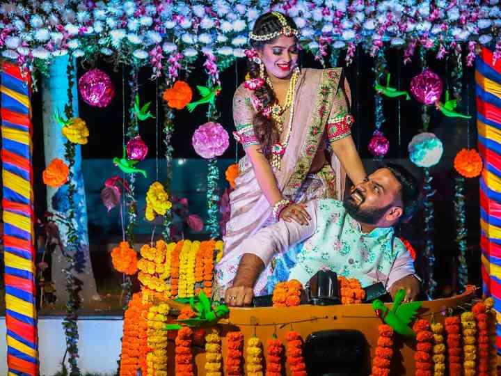 The wedding of Vaishali and Santhosh