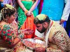 The wedding of Vaishali and Santhosh 3