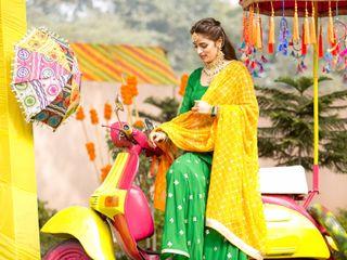 The wedding of Aditi and Rohan 2