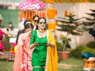 Rohan and Aditi's wedding in Central Delhi, Delhi NCR 7