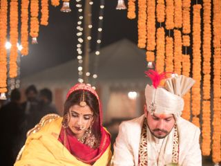 Rohan and Aditi's wedding in Central Delhi, Delhi NCR 36