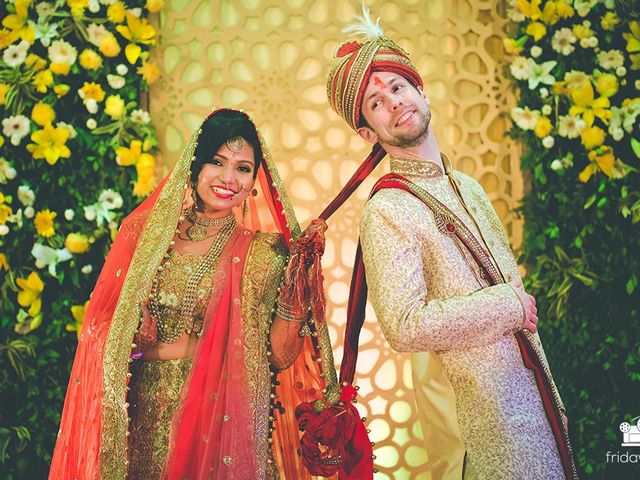 The wedding of Megha and Colby