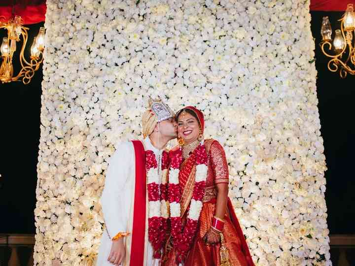 The wedding of Apoorva and Anuj