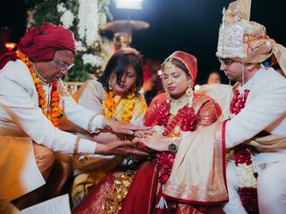 The wedding of Apoorva and Anuj 1