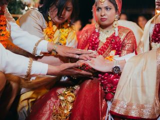 The wedding of Apoorva and Anuj 2