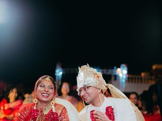 The wedding of Apoorva and Anuj 3