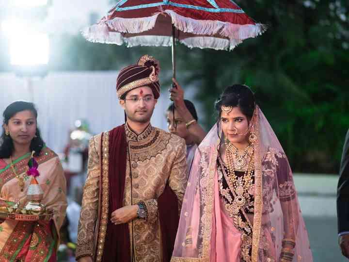 The wedding of Priyanka and Shreeshail
