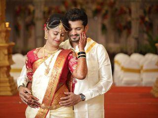 The wedding of Hitashree and Pradeep