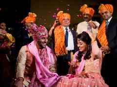 The wedding of Sachee  and Himanshu 2