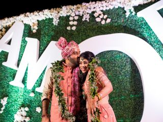 The wedding of Sachee  and Himanshu