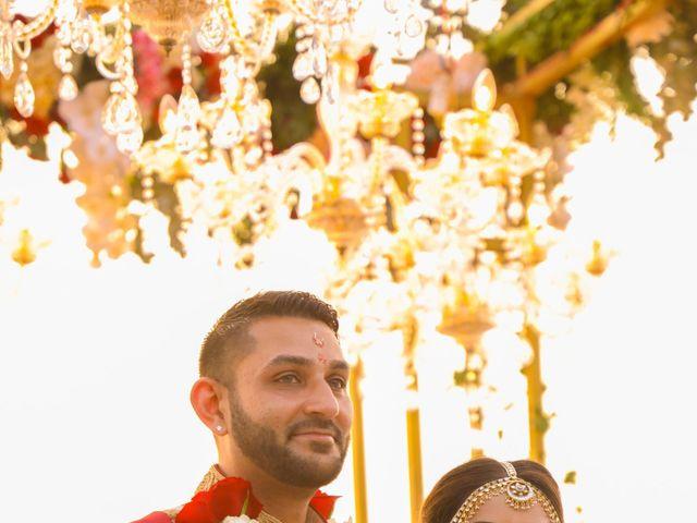 The wedding of Anisha and Ravi