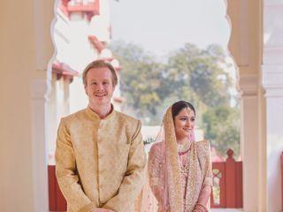The wedding of Divya and Daniel