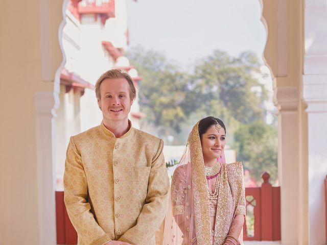 The wedding of Divya and Daniel