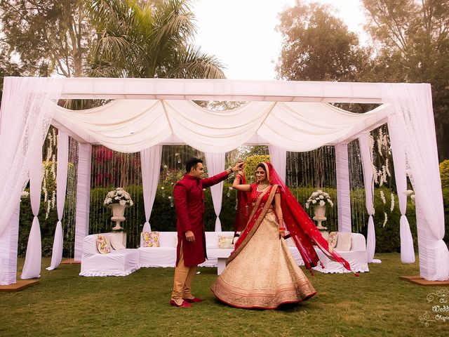 The wedding of Shagun and Anshul