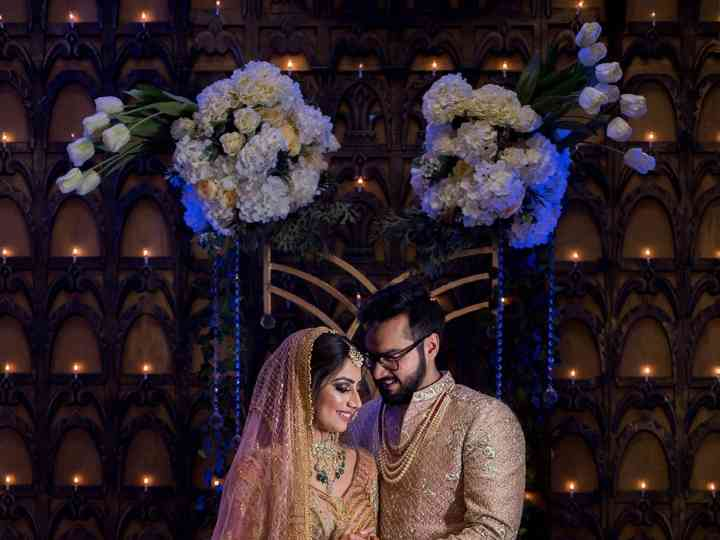 The wedding of Meenal and Dishank