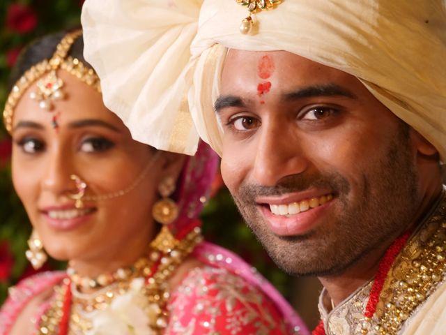 The wedding of Aditi and Mital
