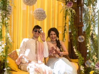 The wedding of Radhica and Chinmay