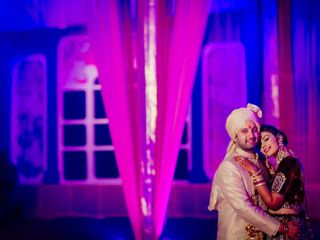 The wedding of Razul and Rajneesh