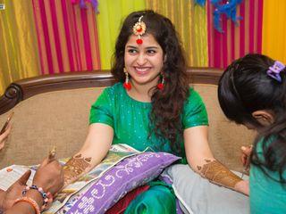 The wedding of Aparna and Pranoy 1