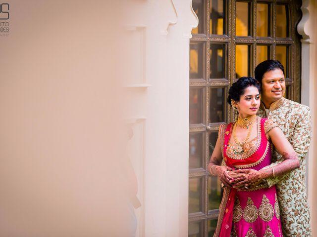 The wedding of Tina and Raja