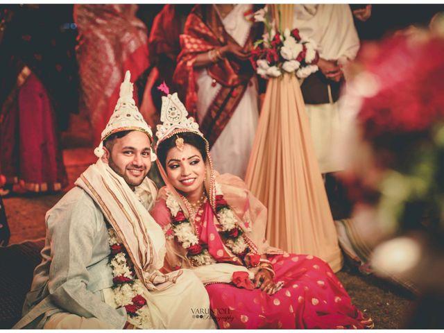 The wedding of Nivedita and Shobhan