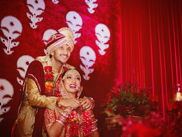 The wedding of Anushree and Rishabh