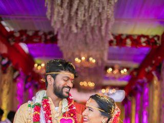 The wedding of Nireekshana and Srujay