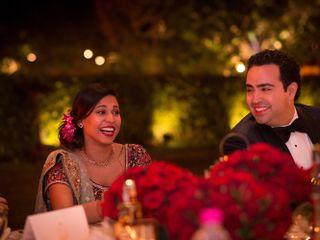 The wedding of Uttara and Omid