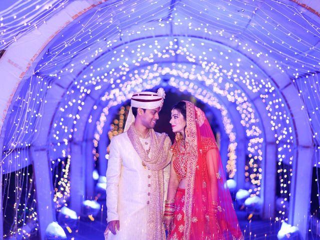 The wedding of Akansha and Prateek