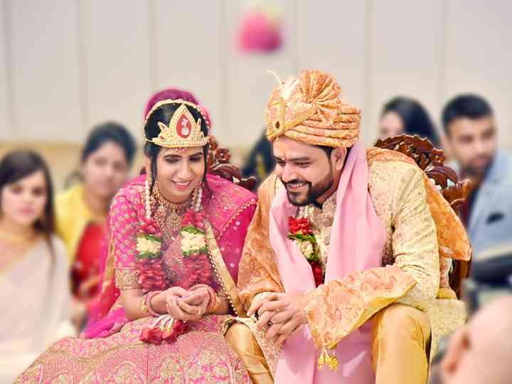 The wedding of Parul and Pravesh