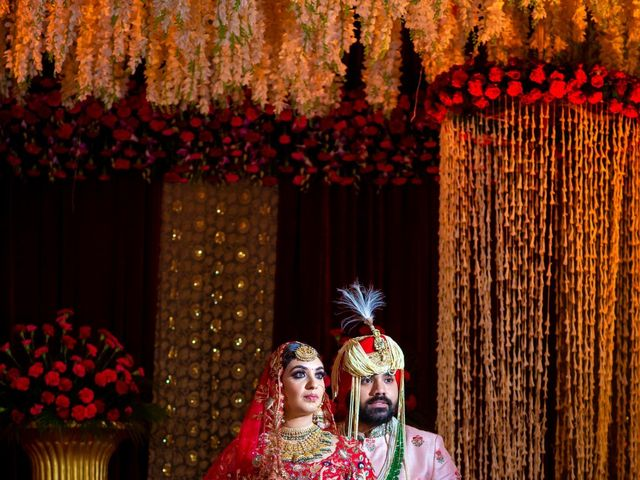 The wedding of Lavleen and Manpreet