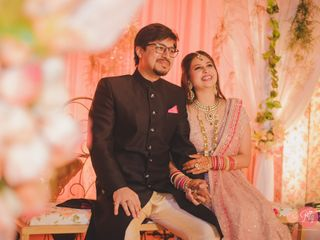 The wedding of Shreya and Yugal