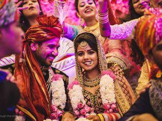 The wedding of Aayushi and Abhimanyu