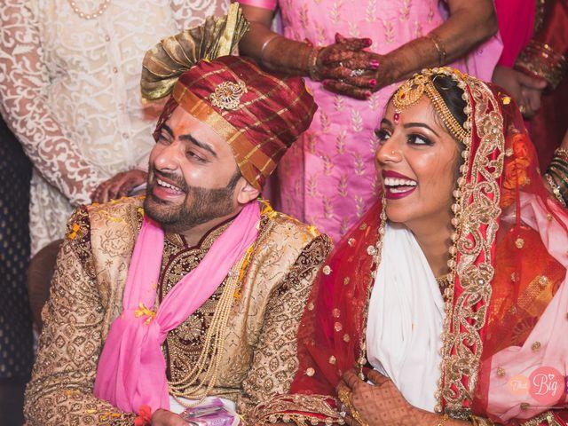 The wedding of Tasya and Amit