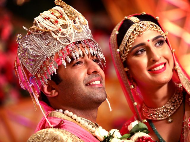 The wedding of Sanchi and Rohan