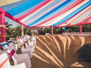 The wedding of Sakhi and Harsh 1