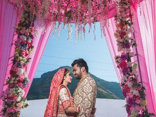 The wedding of Sakhi and Harsh