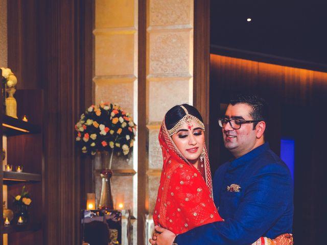 The wedding of Sana and Akshay