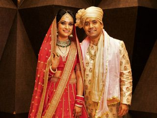The wedding of Aakriti and Rohit