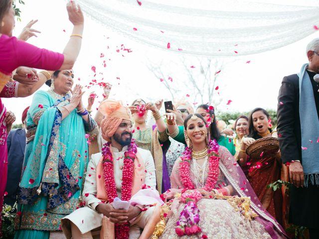 The wedding of Gopika and Viraj