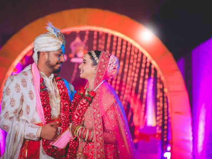 The wedding of Nidhi and Deepesh